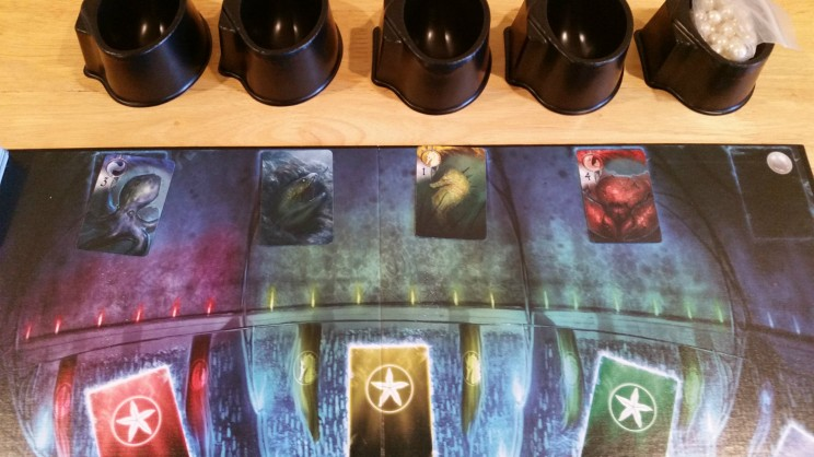 Each of the Ally cards are color coded, which tells you the Guild they are associated with.