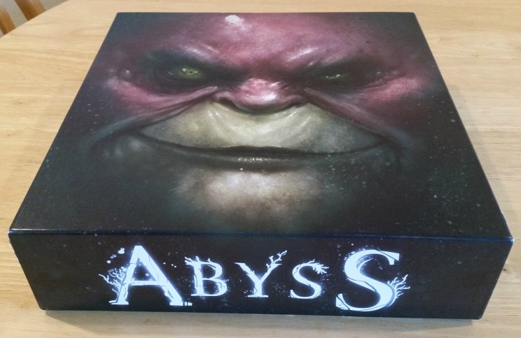 Abyss Cover with Military Lord artwork